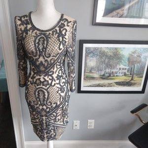 L'IMPASSE couture dress
